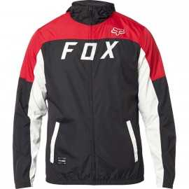 Coupe-vent Fox Moth Windbreaker black red