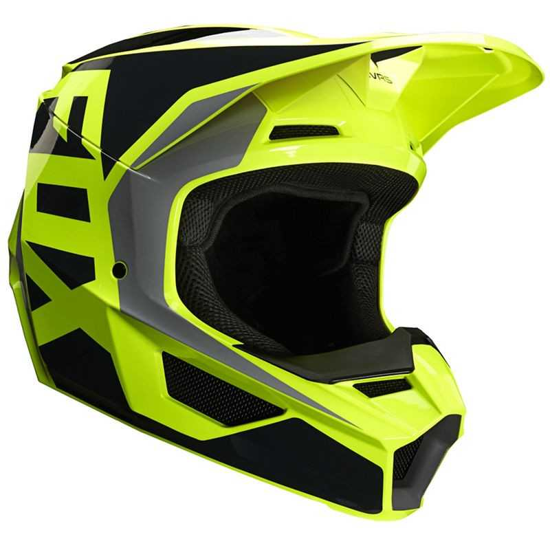 Fox V1 Gama Helmet Ece Yellow