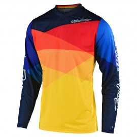 Maillot Troy lee designs Enfant GP Jet yellow orange 2020