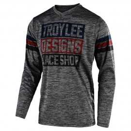 Maillot Troy lee designs GP Elsinore gray heather navy 2020