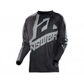 Maillot Cross Answer Voyd black charcoal steel 2020