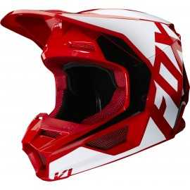Casque cross Fox V1 PRIX flame red 2020