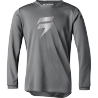 Maillot Cross Shift Enfant Whit3 Ghost gris