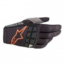 Gants Alpinestars Racefend noir orange 2020