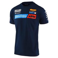 Tee-shirt Troy lee designs Team KTM navy 2021