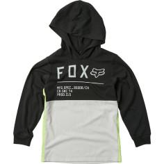 Tee-shirt Fox enfant Non Stop noir gris jaune