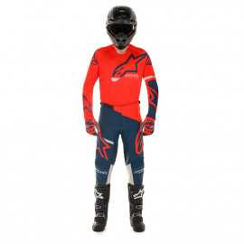 Tenue Alpinestars Racer Tech Compass rouge bleu 2020