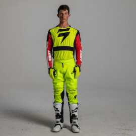 Tenue Shift 3Lack Label Race 2 Jaune fluo 2020