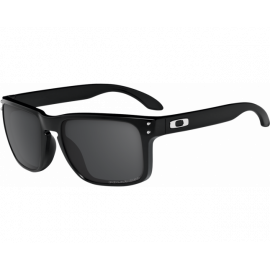 Oakley Holbrook Polished Black lentilles Grey Polarized