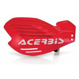 Protèges mains Acerbis x-force rouge blanc