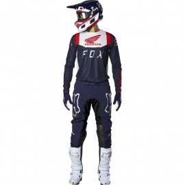Tenue Fox Flexair Honda navy red 2020