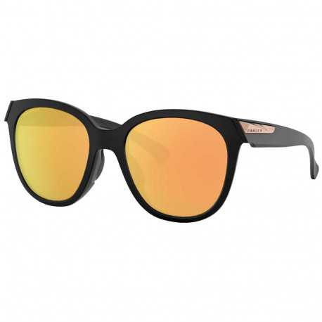 Oakley Low Key Matte Black lentilles Prizm Rose Gold Polarized