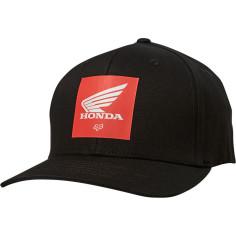 Casquette Fox Honda Flexfit noir