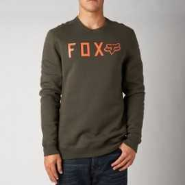 Pull Fox disjoint crew dusty kaki orange