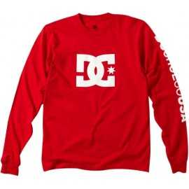 Tee-shirt DC Shoes RD star manches longues rouge