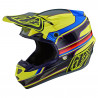 Casque cross Troy Lee Designs SE4 Composite Speed jaune gris 2021