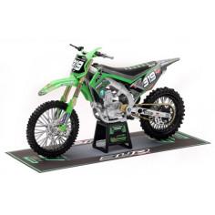 Moto miniature Kawasaki 450 Kxf 1/12°