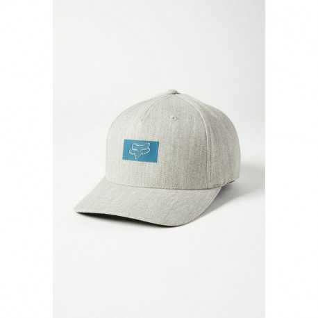 Casquette Fox Standard Flexfit heather grey