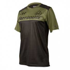 Maillot Fasthouse Alloy Block olive black