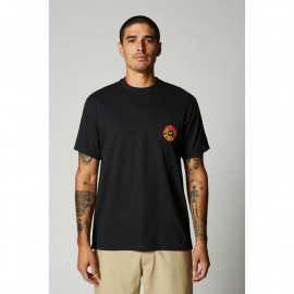 Tee-Shirt Fox Revolver Pocket noir