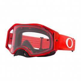 Masque Oakley Airbrake MX MOTO rouge écran clair
