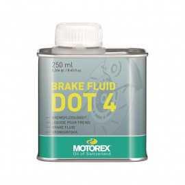 Liquide de frein MOTOREX DOT4 250ml