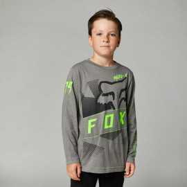 Tee-shirt Fox Enfant manches longues RIET gris