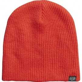 Bonnet Fox enfant courage orange