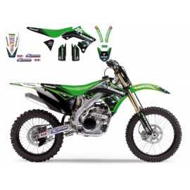 Kit Déco Motocross Blackbird Replica KRT Kawasaki Racing Team