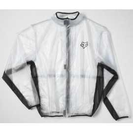 veste imperméable fox fluid mx transparent