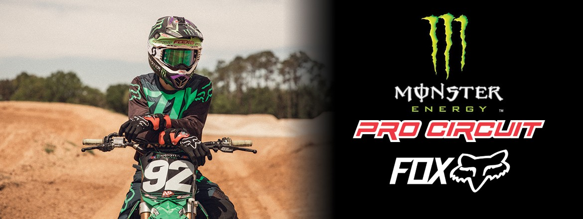 Collection FOX Monster Energy Pro Circuit 2019